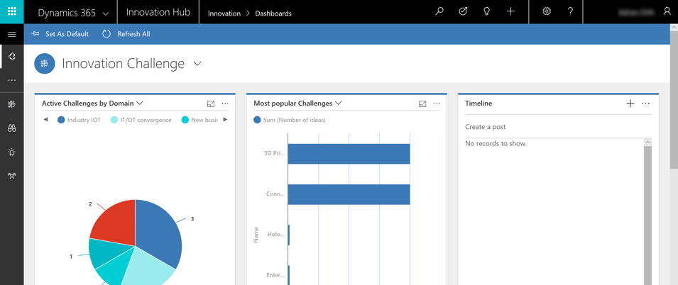 Dynamics 365 – News from the west